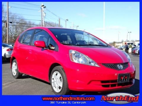 2013 Honda Fit Base FWD 4D Hatchback