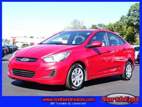 2014 Hyundai Accent GLS FWD 4D Sedan