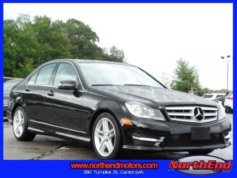 2013 Mercedes-Benz C-Class C350 RWD 4D Sedan