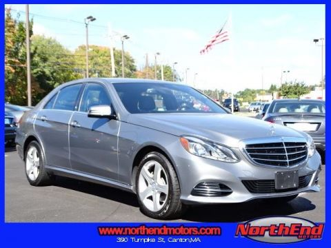 2014 Mercedes-Benz E-Class E350 4MATIC® 4D Sedan